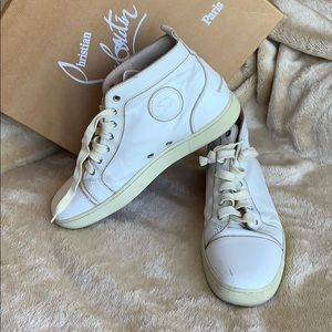 MENS CHRISTIAN LOUBOUTIN SNEAKERS COLLECTORS 42.5